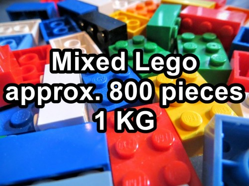 Lego Mixed Set with approx eight hundred pcs / One KG