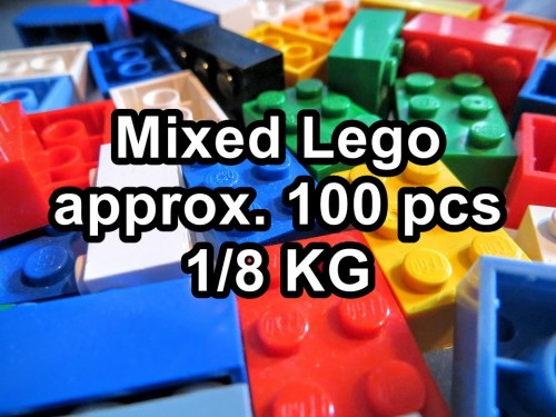 Lego Mixed Set with approx one hundred pcs / Eighth KG