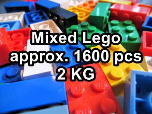 Lego Mixed Set with approx sixteen hndrd pcs / Two KG