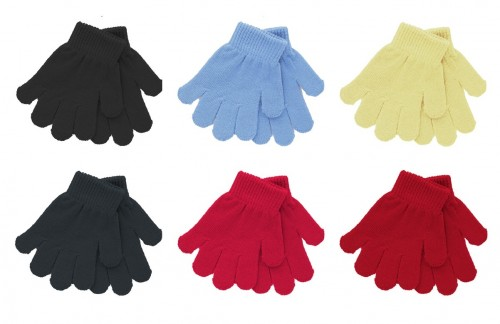 Magic Knitted Toddler Gloves Set of Six