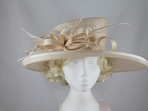 Elegance Collection Ascot Hat