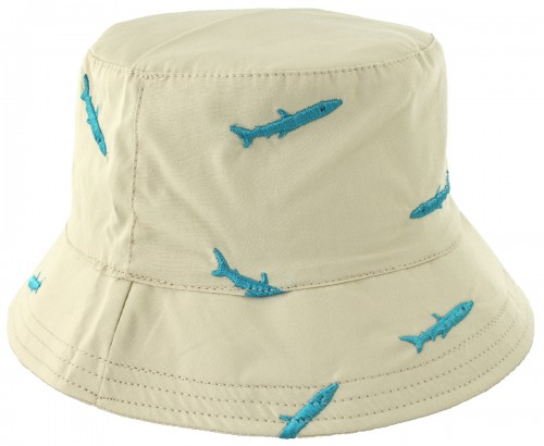 SSP Hats Shark Cotton Sun Hat