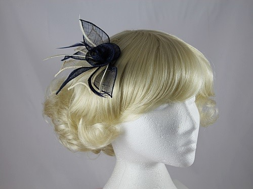 Rose Two Tone Fascinator