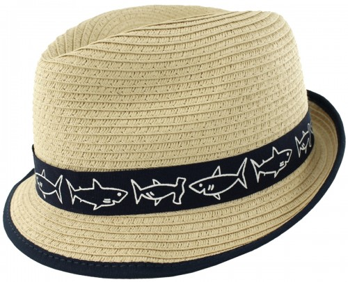 SSP Hats Boys Straw Trilby