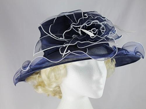 Fascinators 4 Weddings - Failsworth Millinery Organza Wedding Hat in ... c317106370e