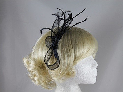 Elegance Collection Sinamay Fascinator