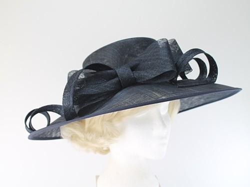 Elegance Collection Wide Brim Events Hat