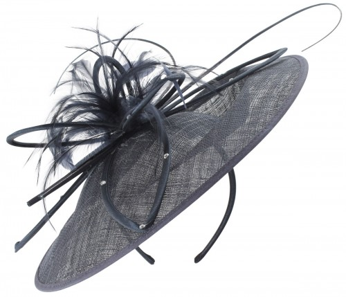 Failsworth Millinery Butterfly Events Disc in Navy