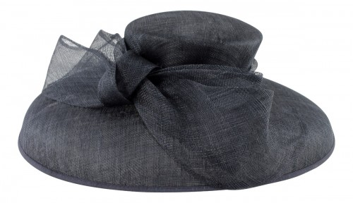 Failsworth Millinery Down Brim Events Hat in Navy