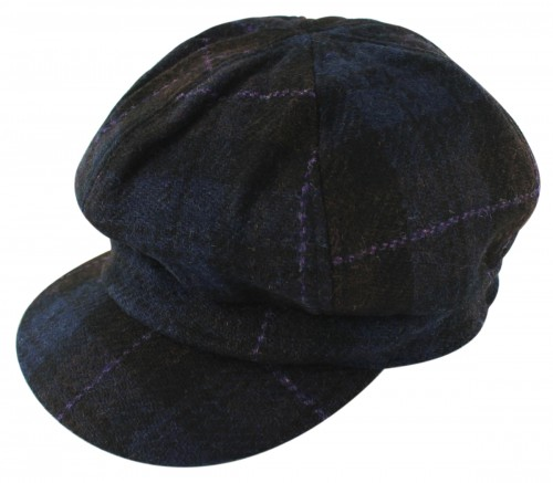 Failsworth Millinery Harris Tweed Bakerboy Cap