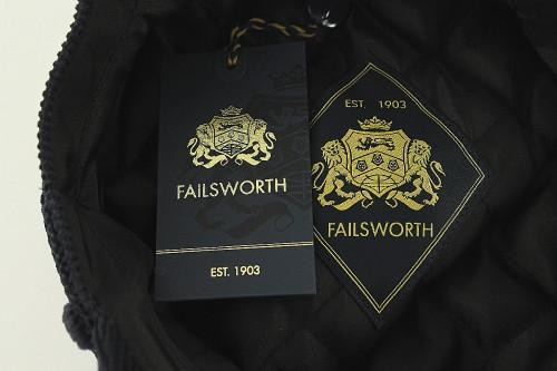 Failsworth Millinery Mariner Cord Cap