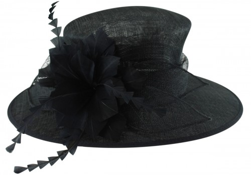 Failsworth Millinery Occasion Hat in Navy