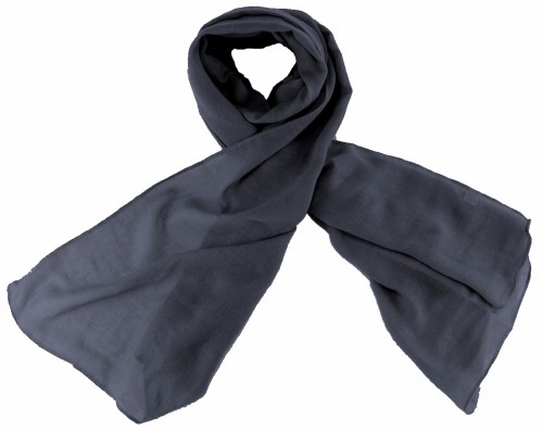 Max and Ellie Fine Woven Scarf in Navy