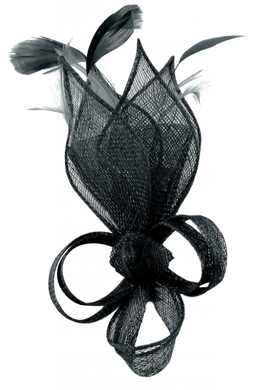 Max and Ellie Lily Comb Fascinator in Navy