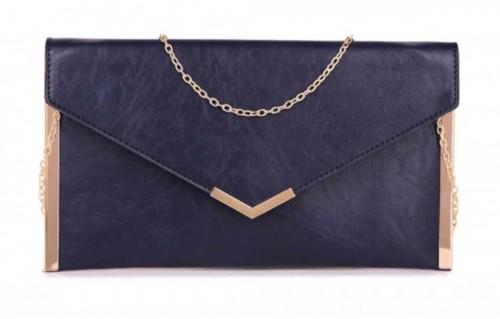 Papaya Fashion Envelope Faux Leather Bag
