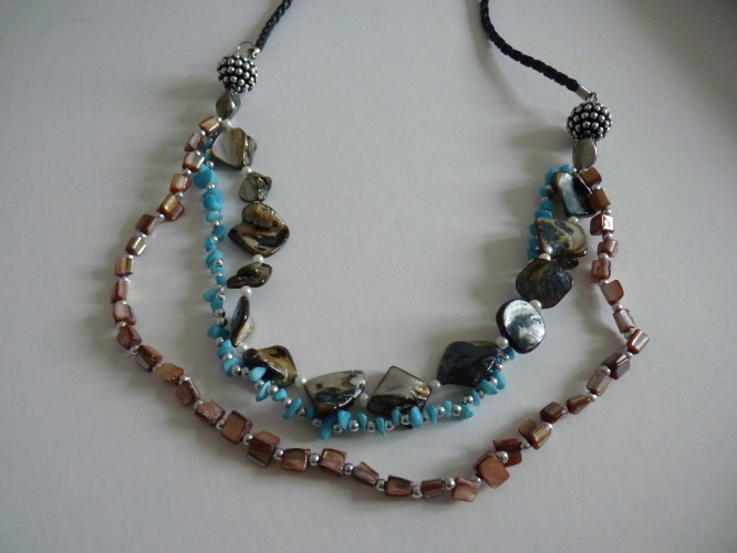 Necklace Multi Turquoise Fawn