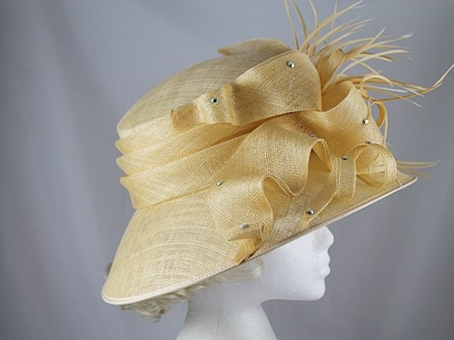 Nigel Rayment Yellow Events Hat