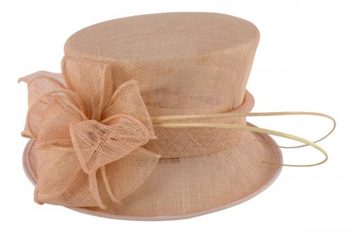 Failsworth Millinery Wedding Hat in Nude