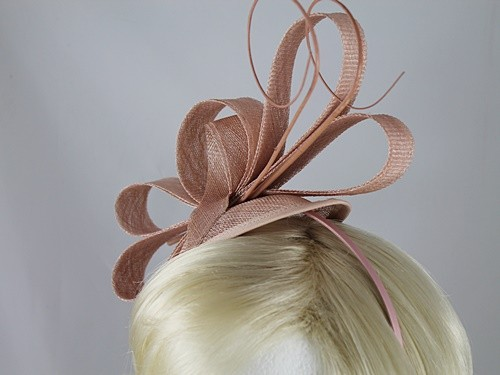 Molly and Rose Loops and Quills Headpiece