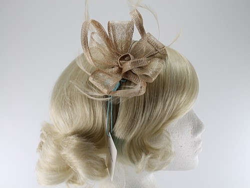 Max and Ellie Flower Fascinator with Matching Occasion Bag