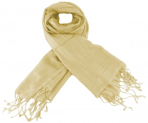 Max and Ellie Luxurious Scarf in Nude