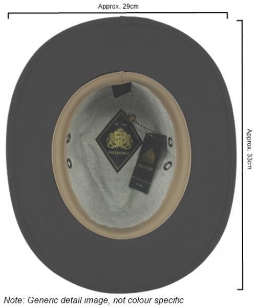 Failsworth Millinery Wax Drifter Fedora (Latest Version)