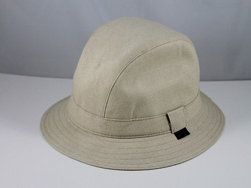 Olney Natural Linen Down Brim