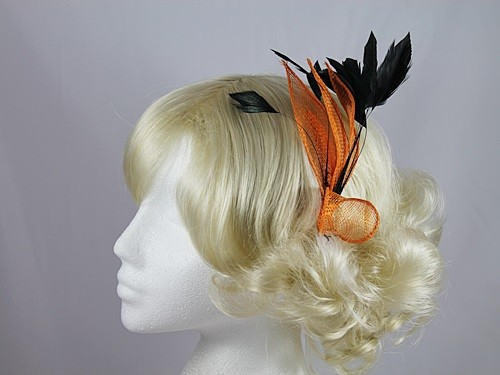Bright Leaves Fascinator