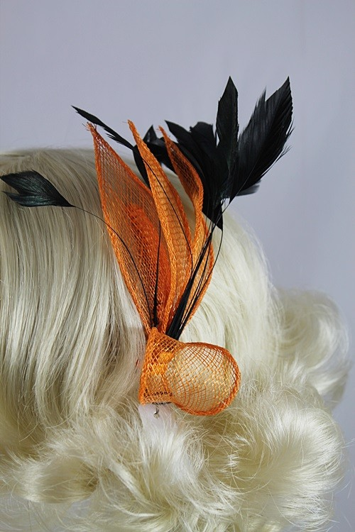 Aurora Collection Bright Leaves Fascinator