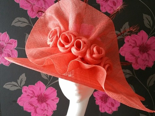 Matthew Eluwande Millinery Diana Wide Brim Events Hat