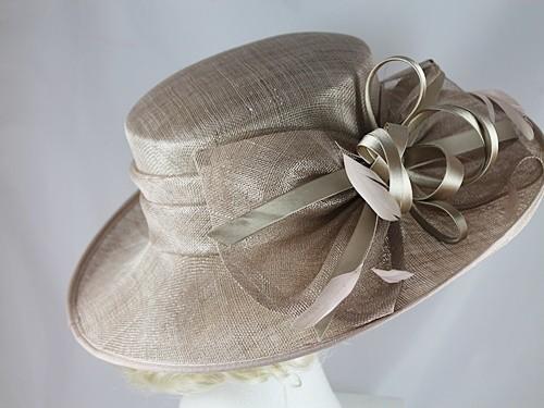 6aafedda8ba Wedding Hats 4U - Hawkins Collection Shimmer Loops Events Hat in ...