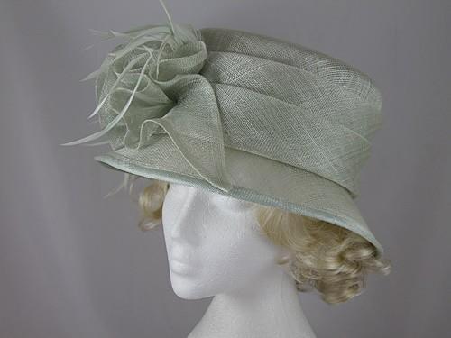 Pale Green Wedding Hat