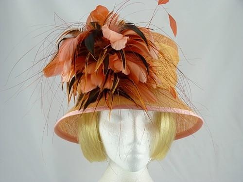 St Micheal Suzie Wedding hat