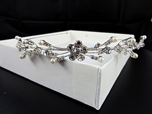 Large Flower Tiara
