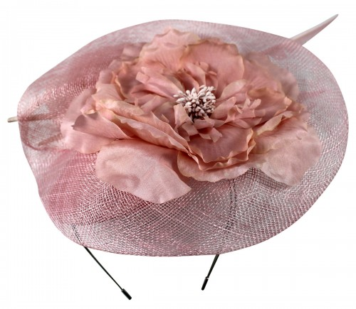Failsworth Millinery Sinamay Ascot Headpiece