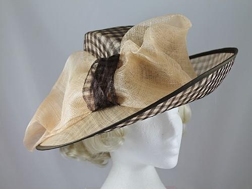 Ascot Hats 4U - Peter Bettley Cream and Mocha Occasion Hat 6a5404a5ed9