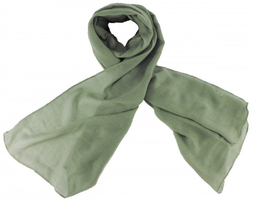 Max and Ellie Fine Woven Scarf in Pewter
