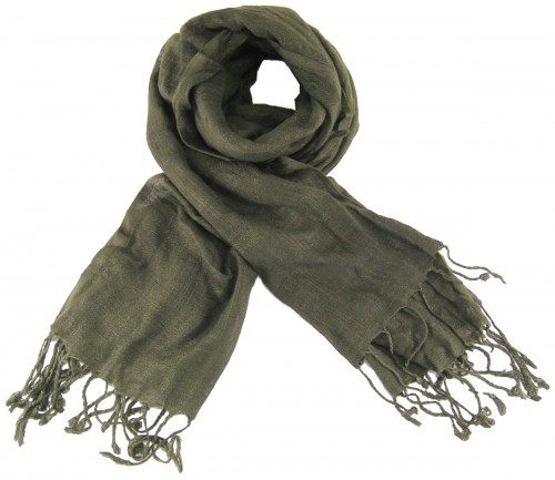 Max and Ellie Luxurious Scarf in Pewter