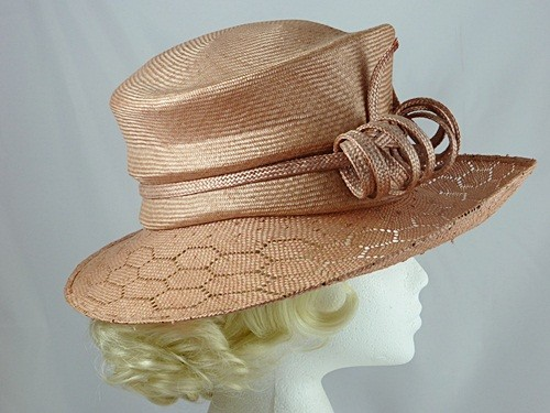 Philip Treacy Coral Wedding / Events Hat