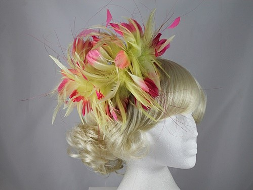 Feather Whirl Fascinator