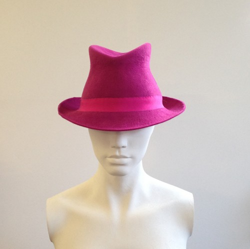 Couture by Beth Hirst Felt Trilby