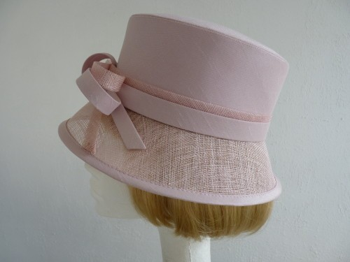 Wedding Hats 4U - Debut Wedding hat Baby pink in Light Pink 8b00fe35528