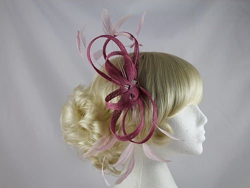 Pink Headpiece