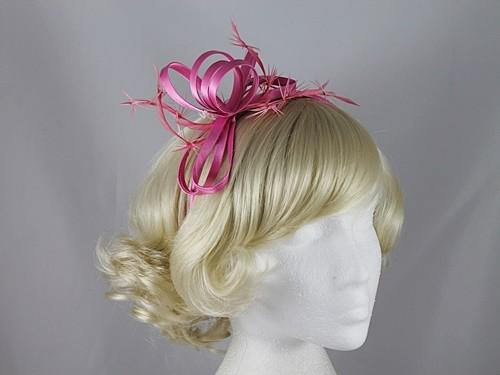 Pink Loops Fascinator