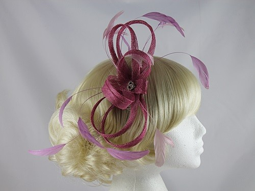 Pink Loops Headpiece