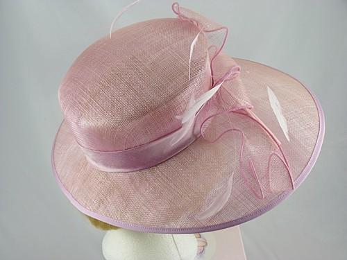 Wedding Hats 4U - Suzanne Bettley hat in Pink c39266f4442
