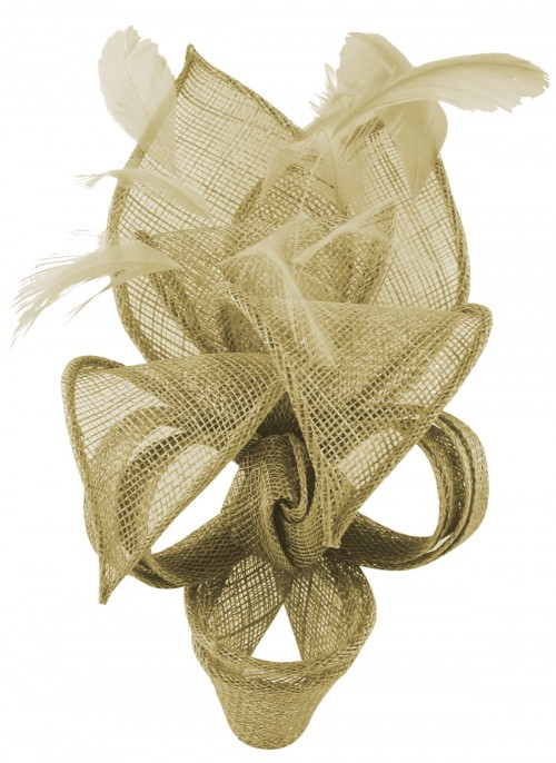 Max and Ellie Lily Comb Fascinator in Pistachio