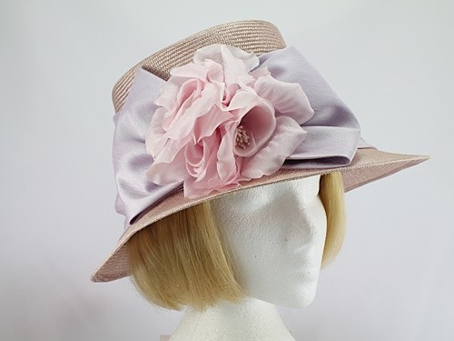 Plaza Suite NY Lilac and Pink Formal Hat