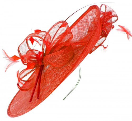 Max and Ellie Events Disc Headpiece in Poppy