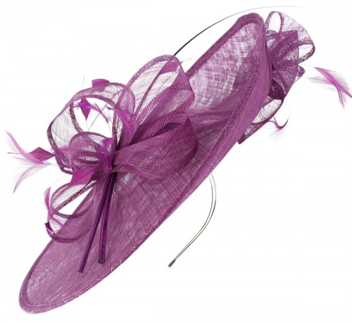 Max and Ellie Events Disc Headpiece in Purple